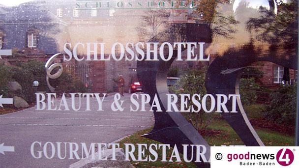 Bühler Oberbürgermeister Schnurr interveniert wegen Schlosshotel Bühlerhöhe - Nach Gespräch mit Eigentümer «Stromversorgung wieder hergestellt und im Moment kein Anlass für Zwangsgelder» - Planungen nach der Sommerpause