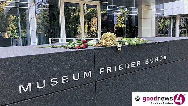 """Baden-Badenerin bittet um Geste des Dankes für Frieder Burda – """"Schließen wir einmal kurz die Augen und versuchen uns Baden-Baden ohne das Burda-Museum vorzustellen"""""""