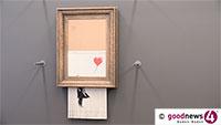60.000 Besucher bei Banksy im Museum Frieder Burda – Stadt Baden-Baden erhält 20.000 Euro Spenden