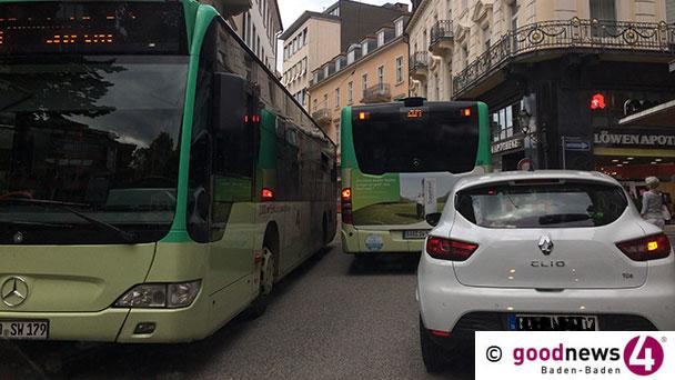 """Baden-Badener Busstreit eskaliert – SPD-Vorwürfe an OB Mergen: """"Mitbestimmungsrechte mit Füßen getreten"""" –  """"Rechte als Stadträte verletzt"""" – Grüne: """"Angelegenheit auf Tagesordnung"""""""