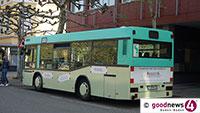 Am Augustaplatz mit Linienbus zusammengerumst – Autofahrerin ließ Bus nicht aus Haltebucht