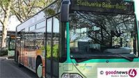 Zusätzliche Linienbusse in Baden-Baden – Entlastung Schulverkehr
