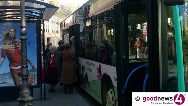 Auch Baden-Badener Buslinie beim New Pop Festival - Shuttlebusse zwischen Bahnhof und Stadtmitte