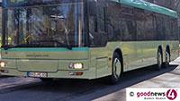 Am Freitag keine Busse in der Allee – Geänderter Fahrplan für Linien 201 und 216