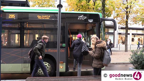 Mehr Busse zum Schulstart in Baden-Baden – Erweiterung Fahrplanangebotes
