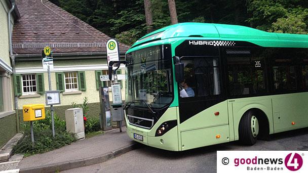 """Volvo entschuldigt sich bei Baden-Badener Fahrgästen - Stadtrat Seifermann beschwert sich bei Bürgermeister Hirth wegen fehlender Information - BBL-Chef Droll: Technik """"mittlerweile geändert"""""""