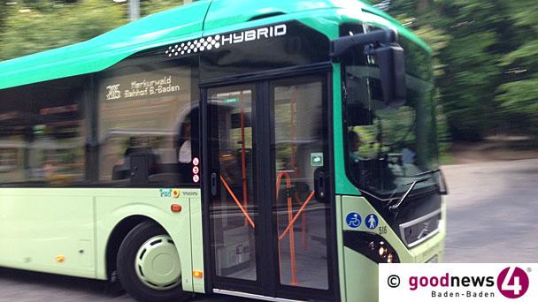 Stadtwerke erhält Förderbescheid aus Berlin für E-Bus – Es gab eine Zeit, in der fuhren in Baden-Baden nur E-Busse