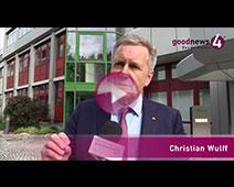 Bundespräsident a.D. Christian Wulff im goodnews4-Interview