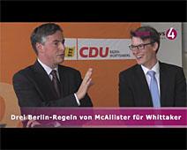 Drei Berlin-Regeln von McAllister für Whittaker