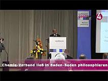 Chemie-Verband ließ in Baden-Baden philosophieren