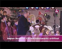 Baden-Badener Christkindelsmarkt eröffnet