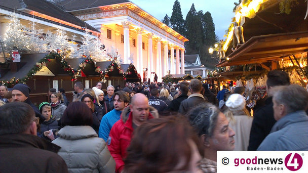 """Baden-Badener Christkindelsmarkt abgesagt – """"Wirtschaftlicher Schaden enorm"""""""