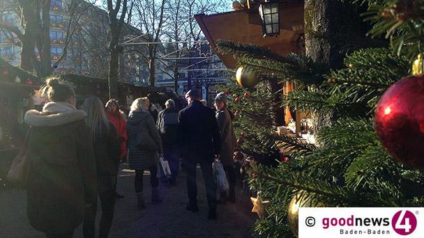 Handtaschenräuber auf Baden-Badenr Christkindelsmarkt - Smartphones, Laptop, Bargeld weg
