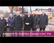 Baggerbiss für Groß-Kino Cineplex in Cité | Wolfgang Gerstner, Matthias Schweikart