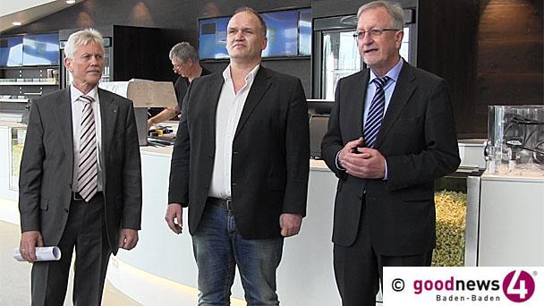 """Multiplex-Großkino in Baden-Badener Cité eröffnet - Bürgermeister Werner Hirth: """"Für die Stadt insgesamt ein Gewinn"""" - """"Darauf achten, dass dort, wo das alte Kino steht, wieder attraktive Nutzungen kommen"""""""