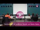 Corona-Lage in Baden-Baden und Landkreis Rastatt | Margret Mergen, Stefan Biehl, Maximilian Lipp