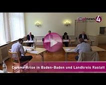 Corona-Krise in Baden-Baden und Landkreis Rastatt   Margret Mergen, Toni Huber, Jürgen Jung, Thomas Iber