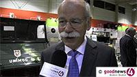 """Daimler-Chef Dieter Zetsche im goodnews4-VIDEO-Interview - """"Ganz wichtig ist, dass wir auch in Zukunft Träume verkaufen und nicht nur Stahl, Eisen, Gummi und Glas"""" - Zum Standort Gaggenau: """"Wir investieren hier massiv"""""""