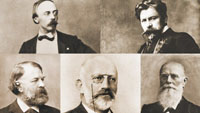 """Berliner Philharmoniker und Marc Marshall als Rezitator im LA 8 - """"Salonkultur des ausgehenden 19. Jahrhunderts"""""""