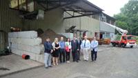 Serbische Delegation besucht Kläranlage