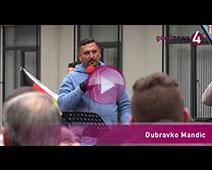 Demonstrationen vor dem SWR in Baden-Baden | goodnews4-Reportage