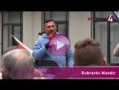 Demonstrationen vor dem SWR in Baden-Baden   goodnews4-Reportage