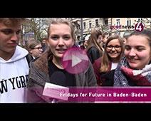 350 Schüler bei Fridays for Future in Baden-Baden | goodnews4-Interviews