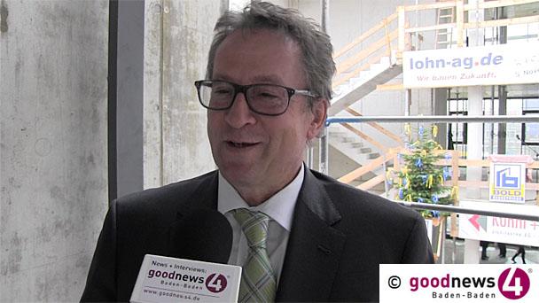 lohn-ag.de AG eröffnet neuen Hauptsitz im Baden-Badener Gewerbepark Oos-West - Service-Unternehmen der deutschen Sterne-Restaurants - Eröffnungsfeier am Dienstag