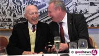 """100-jähriger Emil Matzkuhn erzählt von Baden-Badens dramatischer Stunde - """"Da war ein Aufschrei der Nation hier"""" - """"Da standen Carlein, Ludwig Braun und ich in vorderster Front"""""""