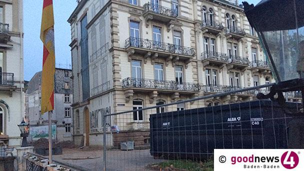 """Stillstand bei Baustelle Europäischer Hof - Architekt Peter Kruse erklärt die Ursache: """"Das uns zugesagte Bohrgerät konnte nicht zur Verfügung gestellt werden"""""""