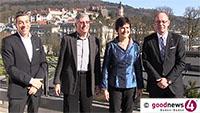 """Schweizer Hotellier investiert 55 Millionen in Europäischen Hof - Martin Buchli-Casper: """"Ein wunderschönes Hotel, aber auch ein alter Kasten"""" - Architekt Kruse: """"Luisenstraße erhält völlig neuen Charakter"""""""