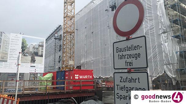 """Projekt Europäischer Hof in Baden-Baden gestoppt – Investoren-Sprecherin: """"Deutlich gestiegene Baukosten"""" – """"Verantwortliche prüfen verschiedene Optionen, um Bau weiterzuführen"""""""