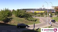 Zwei Schwerverletzte beim Cité-Kreisel – Auto blieb auf Dach liegen