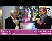 Franz Alt will CO2-Wettlauf in Sachen Klimawandel gewinnen | Franz Alt im Gespräch mit Christian Frietsch