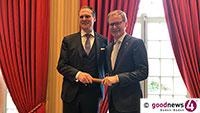 """""""Bienvenu à Baden-Baden"""" – Brenners-Chef Frank Marrenbach übergibt """"Stab"""" an Henning Matthiesen"""