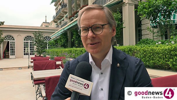 """Grünes Grand Hotel in Baden-Baden - Frank Marrenbach: """"Wir möchten alle Plastikartikel bis zum Ende des Jahres verbraucht haben"""" - """"Also per Strafkultur mehr Regeln, glaube nicht, dass das zielführend ist"""""""
