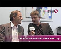 goodnews4-Sommergespräch mit OB Frank Mentrup