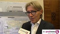 """""""The Roomers"""" soll das neue Fünf-Sterne-Hotel in Baden-Baden heißen - Investor Franz Bernhard Wagener: """"Es soll ein junges, modernes Hotel sein, ein Design-Hotel"""""""