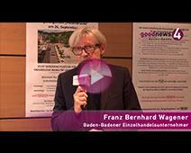 "Kaufhausgründer Franz Bernhard Wagener zu Bürgerentscheid ""Fieser-Brücke"""