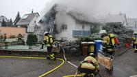 Fahrlässige Brandstiftung in Steinbach - Zwei Verletzte und 100.000 Euro Schaden