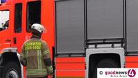 Zigarette möglicherweise Brandursache in Steinbach – Feuerwehr morgens um vier Uhr im Einsatz
