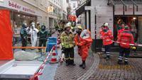 Feuerwehreinsatz im Friedrichsbad - Chlor-Gas ausgetreten - Mitarbeiter in Klinik eingeliefert - Keine Gefahr für Anwohner und Badegäste