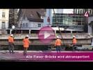 Alte Fieser-Brücke wird heute abtransportiert | goodnews4-VIDEO-Reportage