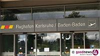 """Gute Noten für Flughafen Karlsruhe Baden-Baden – """"Einer der am besten bewerteten Flughäfen Deutschlands"""""""
