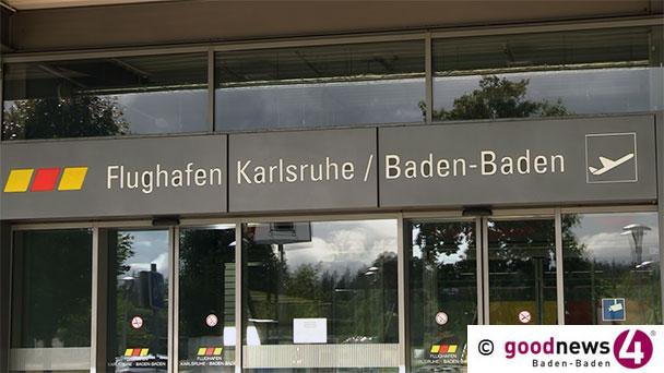 70 Prozent weniger Fluggäste am Flughafen Karlsruhe/Baden-Baden – Ein Bye-bye für Manfred Jung – Uwe Kotzan neuer Geschäftsführer