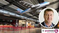 """Flughafen Baden-Baden boomt – Alle wollen nach """"Malle"""" – FKB-Chef Uwe Kotzan: """"Wir haben fast nur ausgebuchte Flugzeuge im Moment"""""""