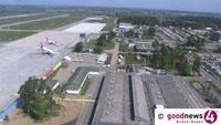 Unfall am Flughafen Karlsruhe Baden-Baden – Privatjet und Transporter stießen zusammen – Hoher Sachschaden