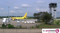 Heiße Phase am Flughafen - Start der Pfingstferien  - Freitag bis Pfingstmontag über 19.000 Fluggäste