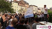 """Nicht so große Resonanz bei Fridays for Future am Baden-Badener Augustaplatz – Thomas Gönner: """"Ich fordere  Frau Oberbürgermeisterin Mergen auf: Folgen Sie dem Beispiel von Konstanz, Kiel und Münster!"""""""