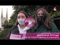 """Fridays for Future""-Demo in Baden-Baden | goodnews4-VIDEO-Umfrage"